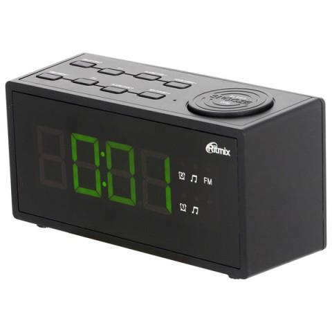 Фотография товара радио-часы Ritmix RRC-1212 Black (10010713)