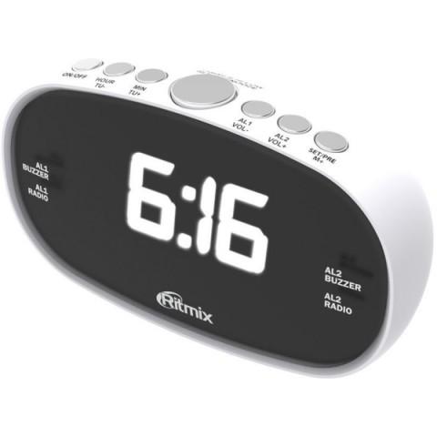 Фотография товара радио-часы Ritmix RRC-616 White (10010851)