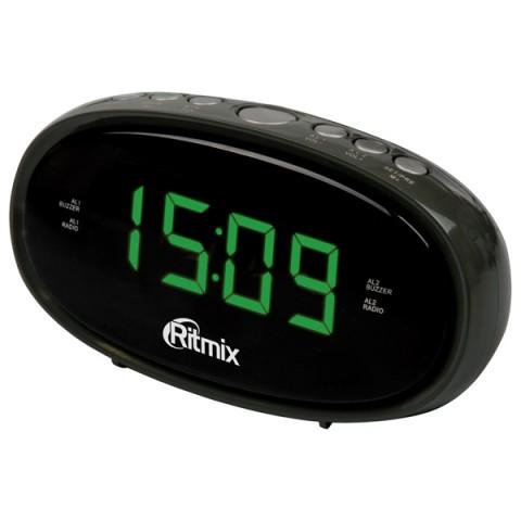 Фотография товара радио-часы Ritmix RRC-616 Black (10010852)