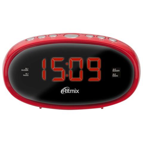 Фотография товара радио-часы Ritmix RRC-616 Red (10010853)