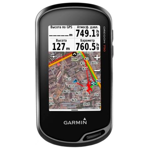 Фотография товара туристический навигатор Garmin Oregon 750t (10010871)