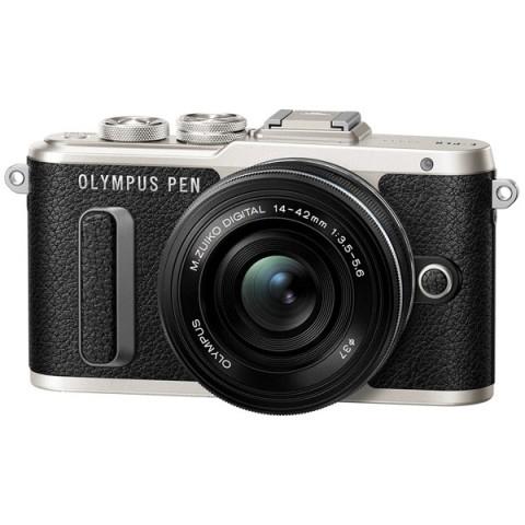 Фотография товара фотоаппарат системный Olympus E-PL8 black + 14-42 EZ black (10010908)