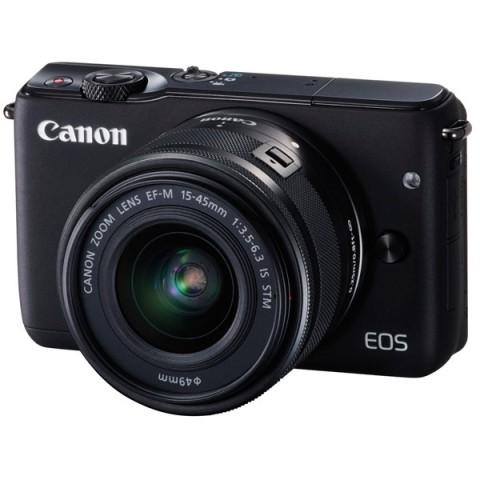 Фотография товара фотоаппарат системный Canon EOS M10 Black + EF-M 15-45 IS STM (10010911)