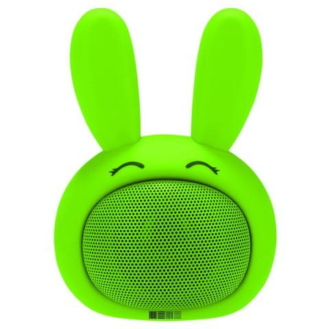 Фотография товара беспроводная акустика InterStep SBS-150 FunnyBunny Lime (IS-LS-SBS150GRE-000B201) (10010988)