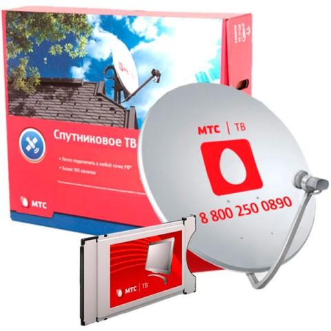 Фотография товара комплект цифрового ТВ МТС с CAM-модулем и антенной №92(мес. просмотра вкл.) (10011009)