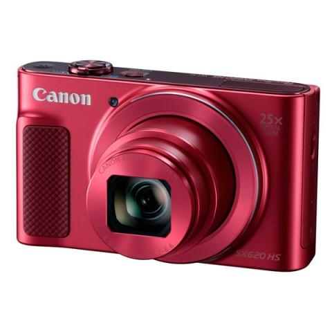Фотография товара фотоаппарат компактный Canon PowerShot SX620 HS Red (10011011)