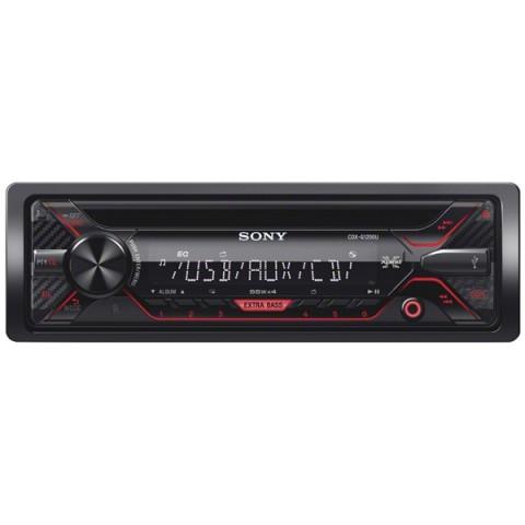 Фотография товара автомобильная магнитола с CD MP3 Sony CDX-G1200U/Q (10011024)
