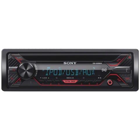 Фотография товара автомобильная магнитола с CD MP3 Sony CDXG3200UV/Q (10011080)