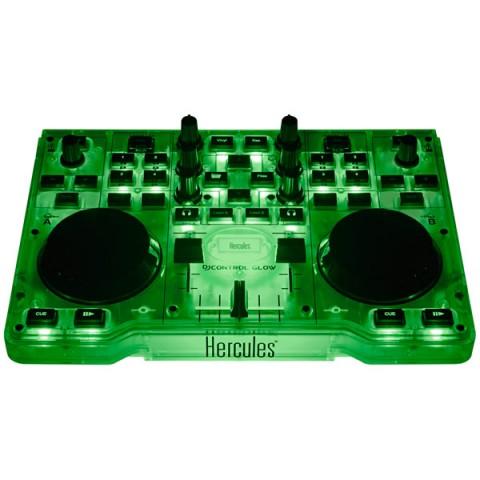 Фотография товара контроллер для DJ Hercules DJControl Glow Green (10011133)