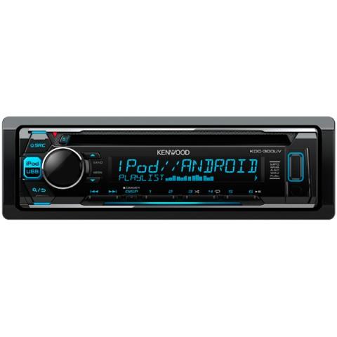 Фотография товара автомобильная магнитола с CD MP3 Kenwood KDC-300UV (10011148)