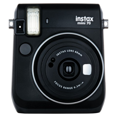 Фотография товара фотоаппарат моментальной печати Fujifilm Instax Mini 70 Black (10011190)