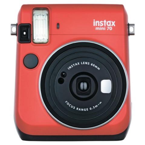 Фотография товара фотоаппарат моментальной печати Fujifilm Instax Mini 70 Red (10011192)