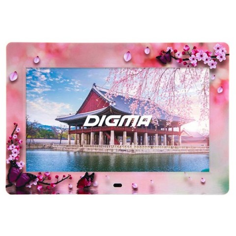 Фотография товара цифровая фоторамка Digma PF-104FL White (10011220)