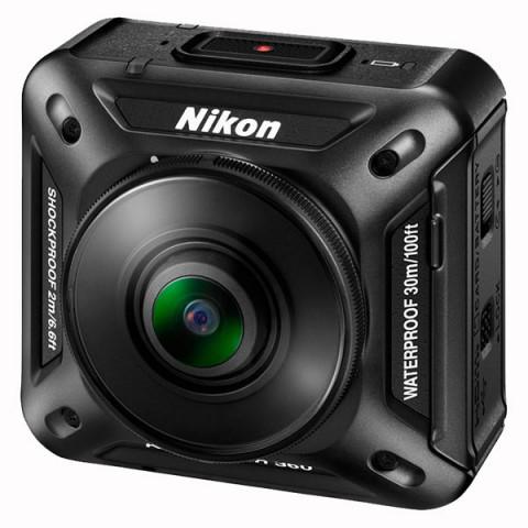 Фотография товара видеокамера экшн Nikon KeyMission 360 Black (10011260)