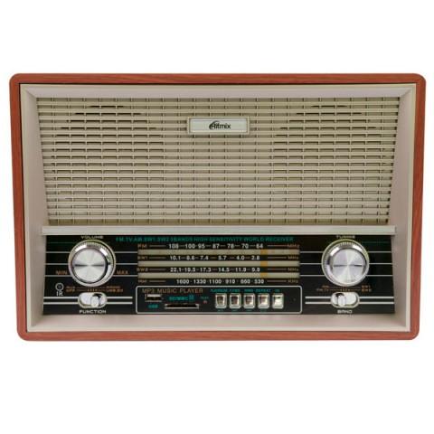 Фотография товара радиоприемник Ritmix RPR-101 Wood (10011449)