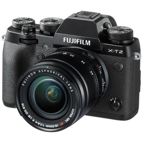 Фотография товара фотоаппарат системный премиум Fujifilm X-T2 Kit 18-55 Black (10011451)