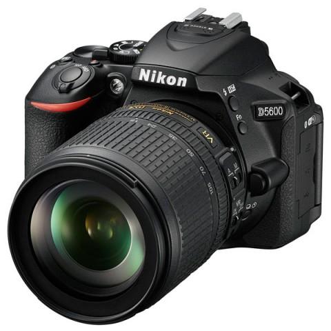 Фотография товара фотоаппарат зеркальный Nikon D5600 + AF-S 18-105 VR (10011455)