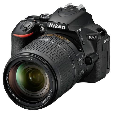 Фотография товара фотоаппарат зеркальный Nikon D5600 + AF-S 18-140 VR (10011456)