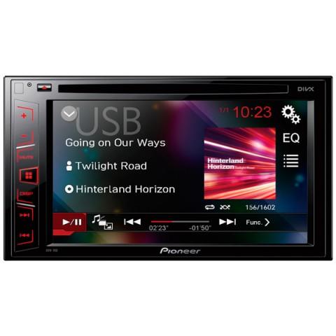 Фотография товара автомобильная магнитола с DVD + монитор Pioneer AVH-190 (10011457)