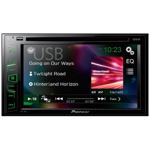 Фотография товара автомобильная магнитола с DVD + монитор Pioneer AVH-190G (10011458)