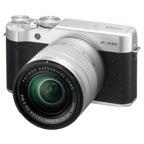 Фотография товара фотоаппарат системный Fujifilm X-A10 Kit Silver (10011499)