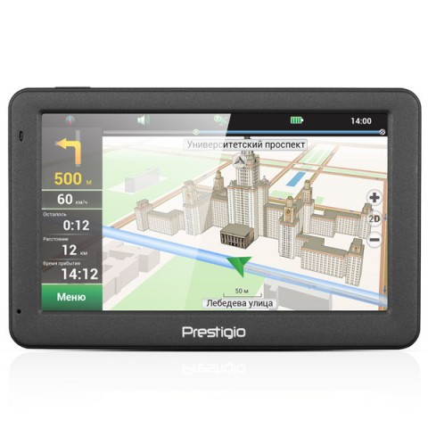 Фотография товара портативный GPS-навигатор Prestigio GeoVision 5059 (PGPS5059CIS04GBNV) (10011529)