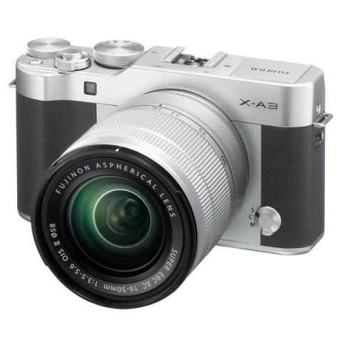 Фотография товара фотоаппарат системный Fujifilm X-A3 Kit 16-50 II Silver (10011582)