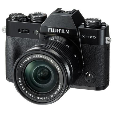 Фотография товара фотоаппарат системный Fujifilm X-T20 KIT 16-50 II Black (10011625)