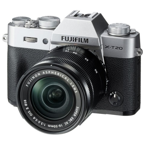Фотография товара фотоаппарат системный Fujifilm X-T20 KIT 16-50 II Silver (10011626)