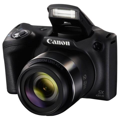 Фотография товара фотоаппарат компактный Canon PowerShot SX430 IS Black (10011644)
