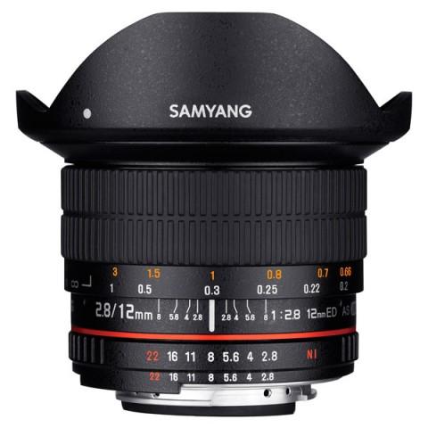 Фотография товара объектив Samyang 12mm f/2.8 ED AS NCS Fish-eye Fujifilm X (10011744)