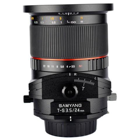 Фотография товара объектив Samyang T-S 24mm f/3.5 AS ED UMC Fujifilm X (10011749D)