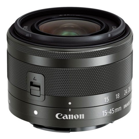Фотография товара объектив Canon EFM 15-45mm f/3.5-6.3 IS STM Black (10011764)
