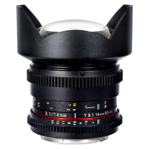 Фотография товара объектив Samyang 14mm T3.1 ED AS IF UMC VDSLR II Canon EF (10011789)