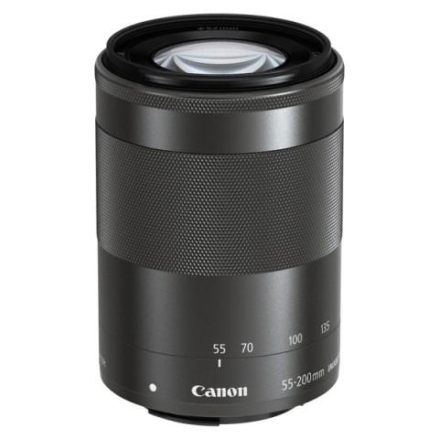 Фотография товара объектив Canon EFM 55-200mm f/4.5-6.3 IS STM Black (10011800)