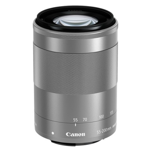 Фотография товара объектив Canon EFM 55-200mm f/4.5-6.3 IS STM Silver (10011801)