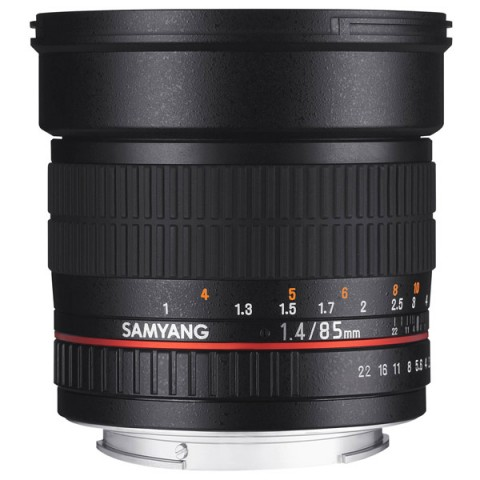 Фотография товара объектив Samyang 85mm f/1.4 AS IF UMC AE Nikon F (10011818D)