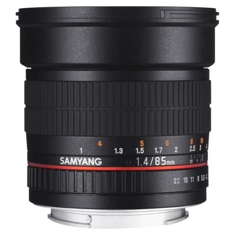 Фотография товара объектив Samyang 85mm f/1.4 AS IF Sony A (10011996D)