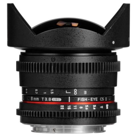 Фотография товара объектив Samyang 8mm T3.8 AS IF UMC Fish-eye CS II VDSLR Sony E (10012014D)