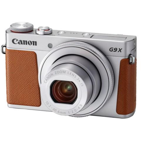 Фотография товара фотоаппарат компактный премиум Canon G9X Mark II Silver (10012065)