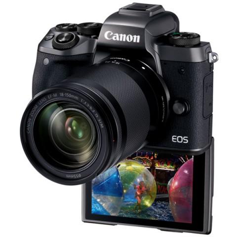 Фотография товара фотоаппарат системный премиум Canon EOS M5 EF-M18-150 IS STM Kit (10012103)