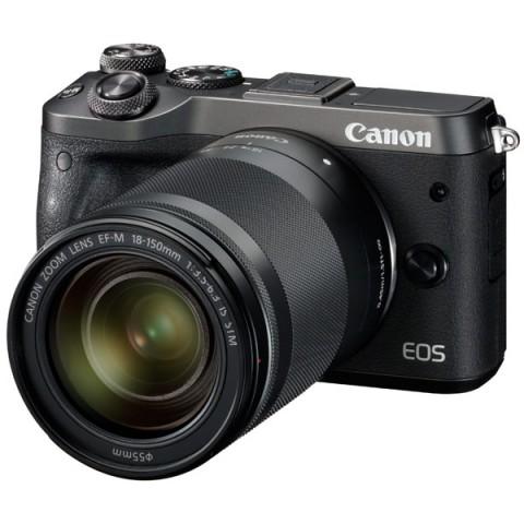 Фотография товара фотоаппарат системный премиум Canon EOS M6 EF-M18-150 IS STM Kit (10012112)