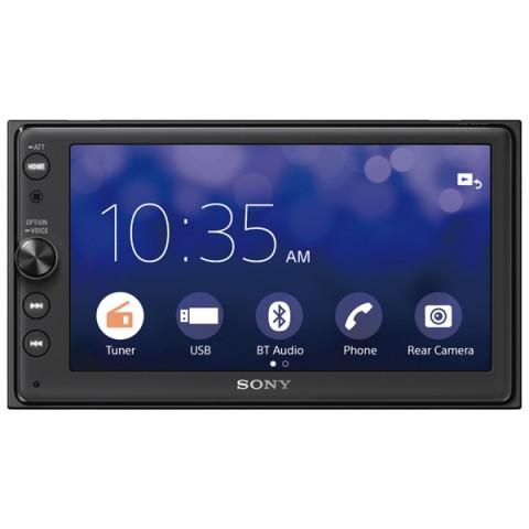 Фотография товара автомагнитола для iPhone Sony XAV-AX100//C (10012147)