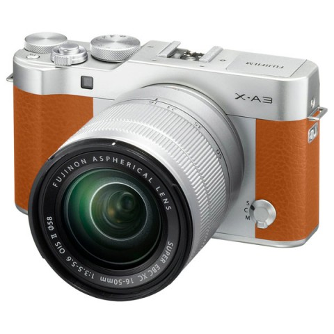 Фотография товара фотоаппарат системный Fujifilm X-A3 Kit 16-50 II Camel (10012258)