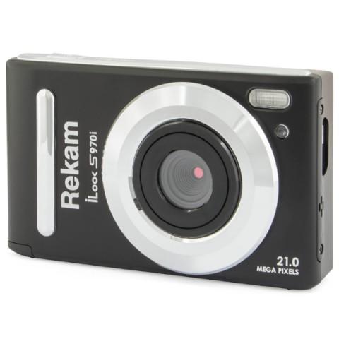 Фотография товара фотоаппарат компактный Rekam iLook S970i Black (10012289)