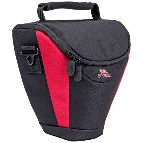 Фотография товара сумка для DSLR камер RIVACASE 7207 Black-Red (10012303)