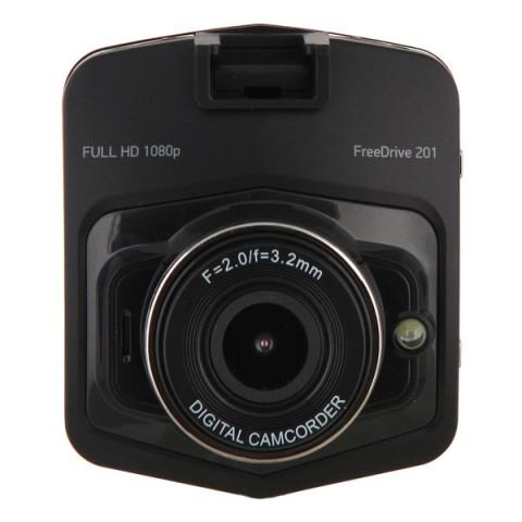 Купить видеорегистратор Digma FreeDrive 201 Black (10012534) в Москве, в Спб и в России