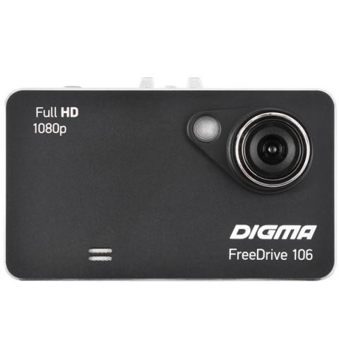 Купить видеорегистратор Digma FreeDrive 106 Black (10012542) в Москве, в Спб и в России