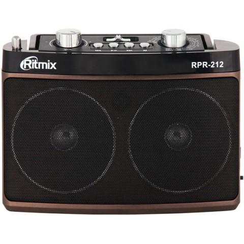 Купить радиоприемник Ritmix RPR-212 Brown (10012585) в Москве, в Спб и в России