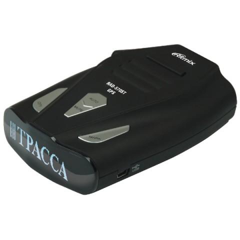 Фотография товара автомобильный радар Ritmix RAD-570ST GPS (10012605)